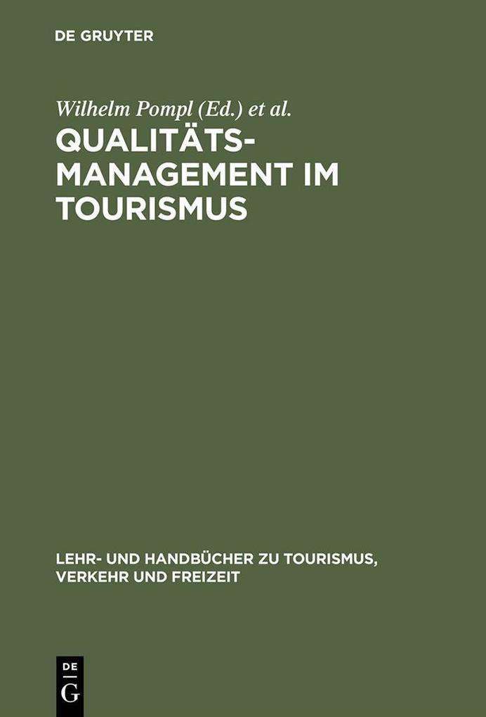 Qualitätsmanagement im Tourismus als eBook Down...