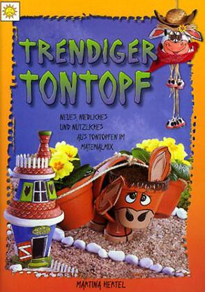 Trendiger Tontopf als Buch