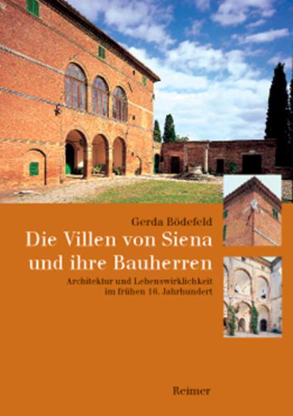 Die Villen von Siena und ihre Bauherren als Buch