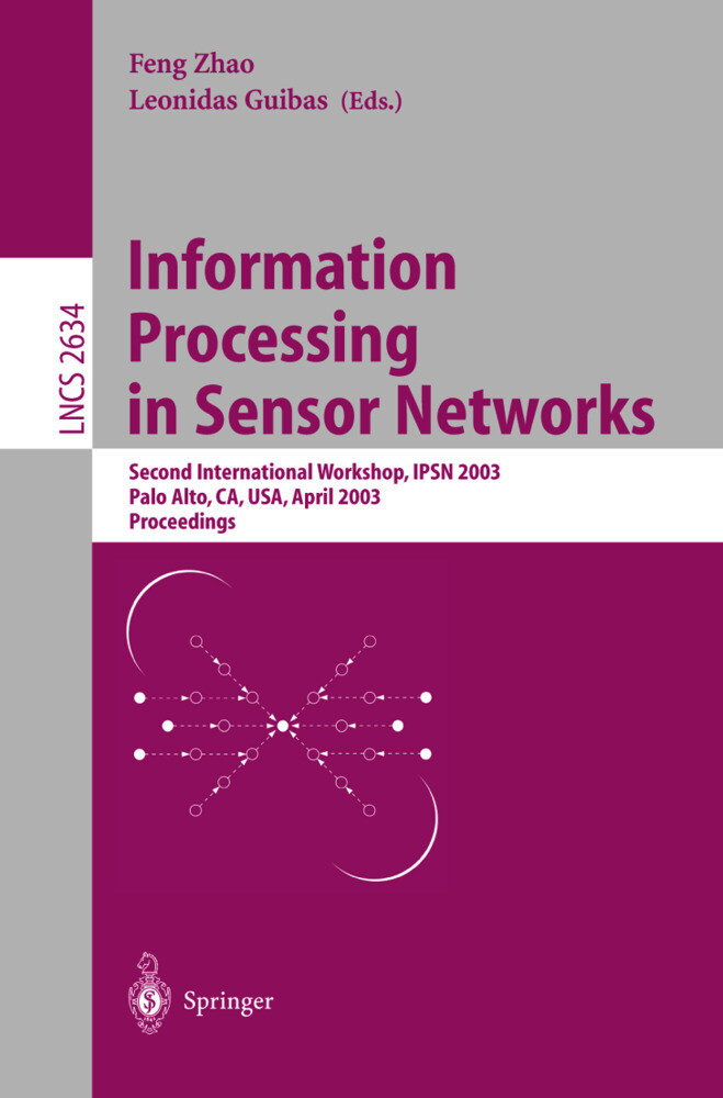 Information Processing in Sensor Networks als Buch