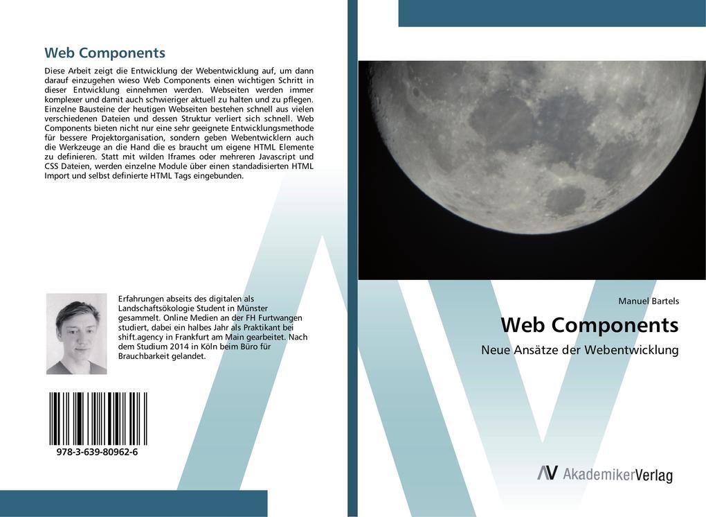 Web Components als Buch von Manuel Bartels