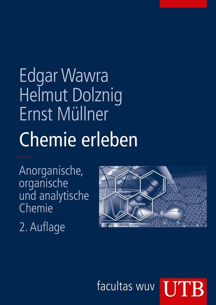 Chemie erleben als Buch