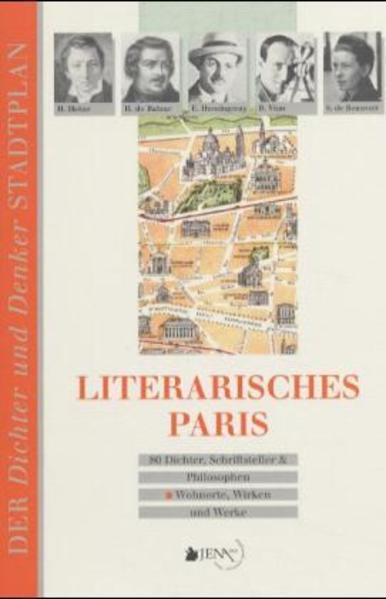 Literarisches Paris als Buch