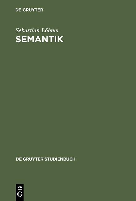 Semantik als Buch (kartoniert)