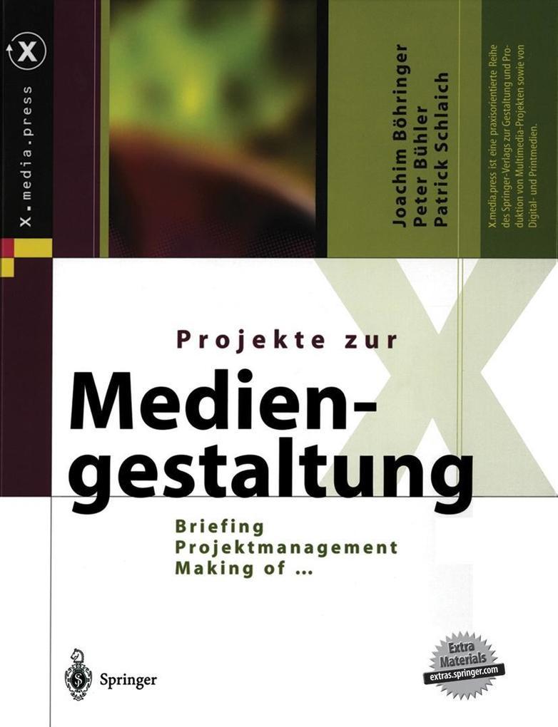Projekte zur Mediengestaltung als Buch