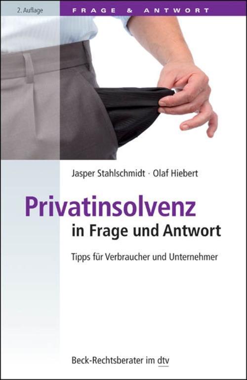 Privatinsolvenz in Frage und Antwort als eBook ...