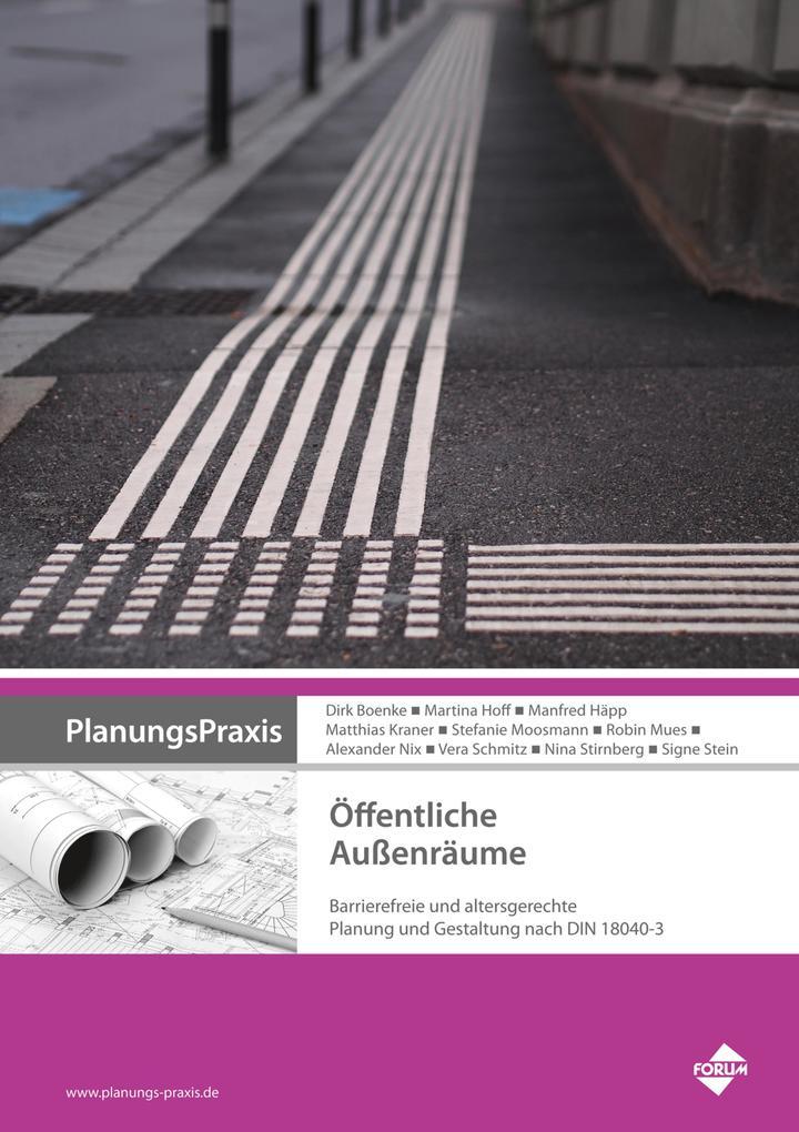 PlanungsPraxis Öffentliche Außenräume als eBook...