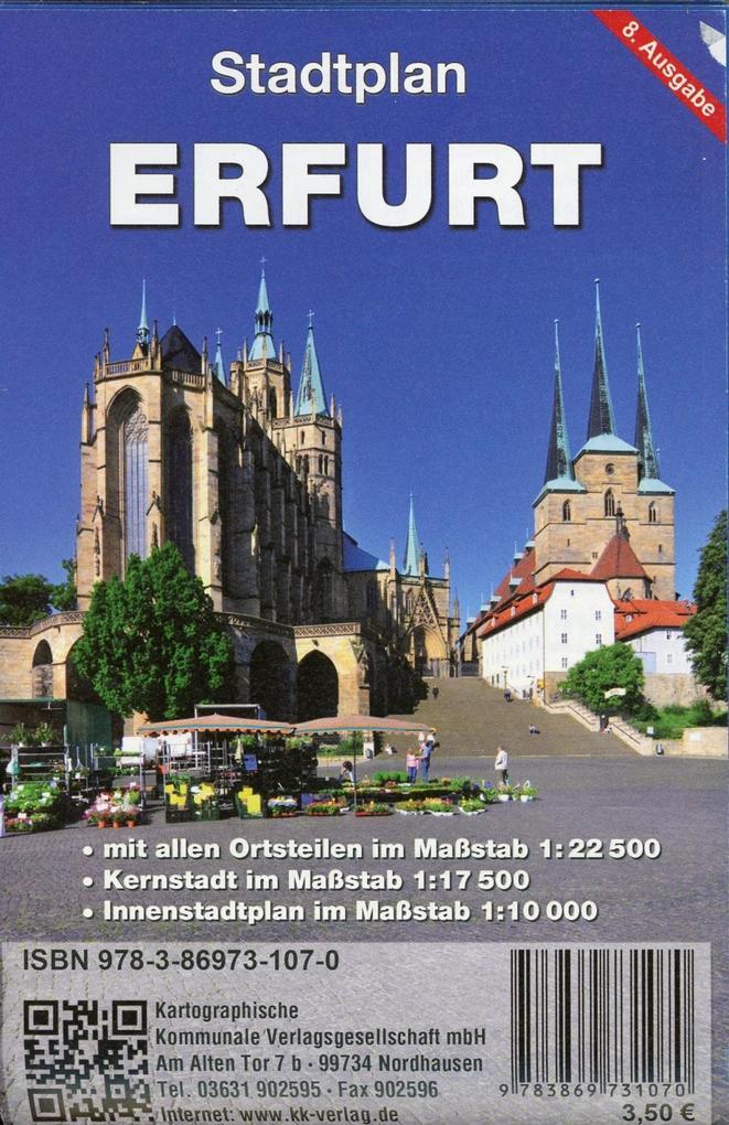 Erfurt als Buch von