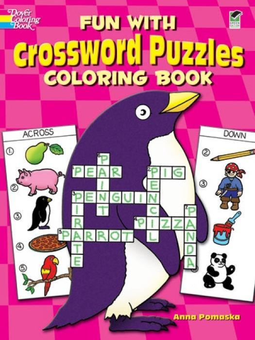 Fun with Crossword Puzzles Coloring Book als Taschenbuch