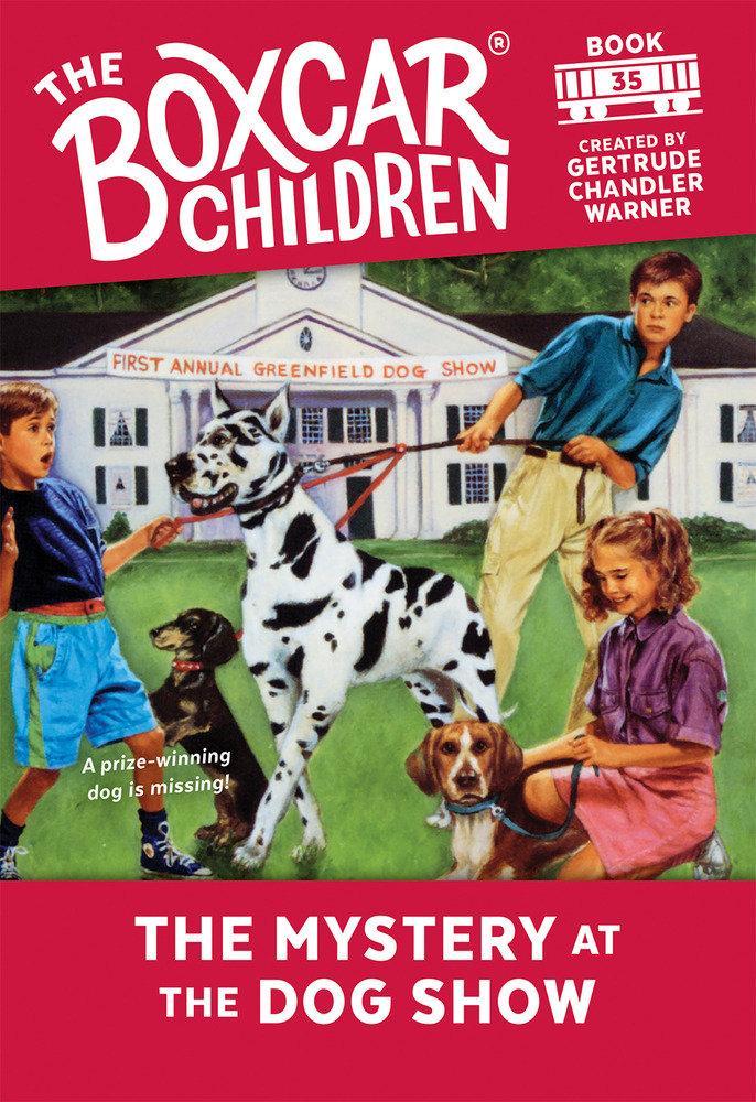 BOXC 035 MYST AT THE DOG SHOW als Taschenbuch