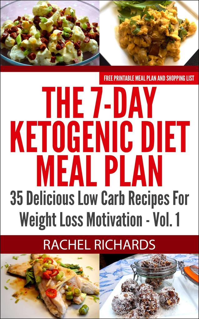 The 7-Day Ketogenic Diet Meal Plan: 35 Deliciou...