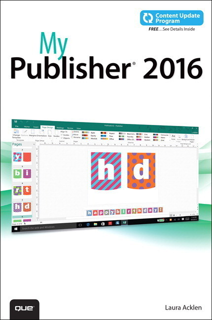 My Publisher 2016 (includes free Content Update...