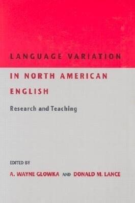 Language Variation in North Am als Taschenbuch