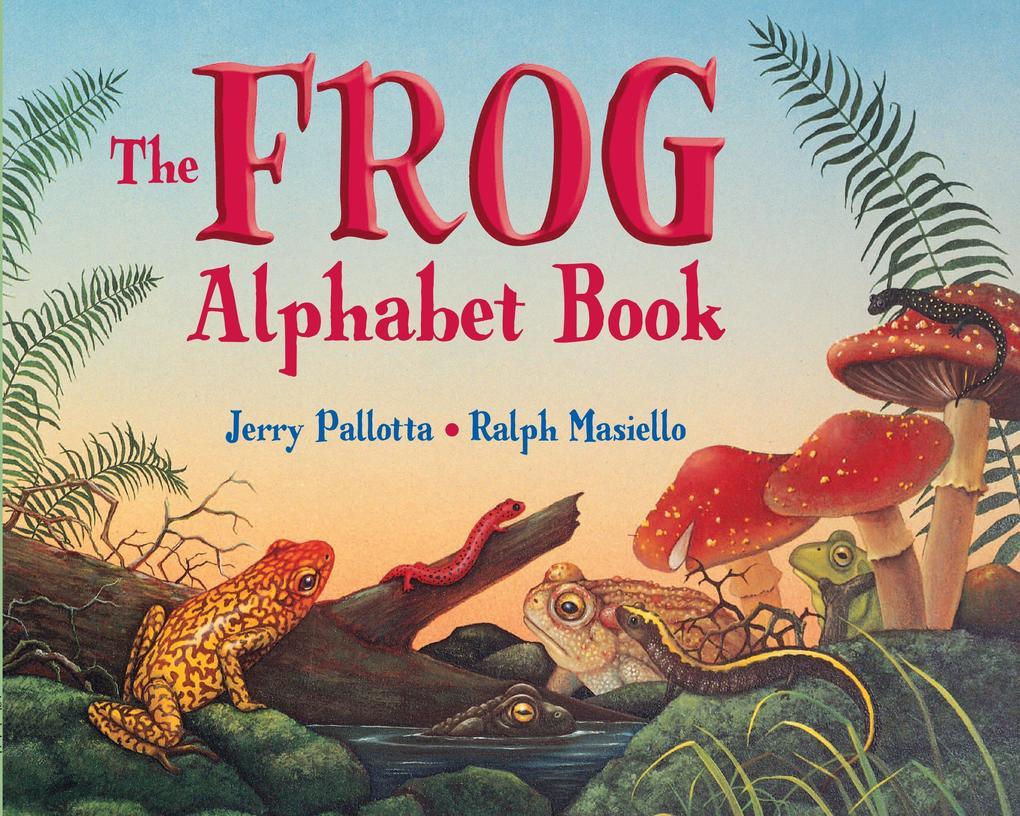 The Frog Alphabet Book als Taschenbuch