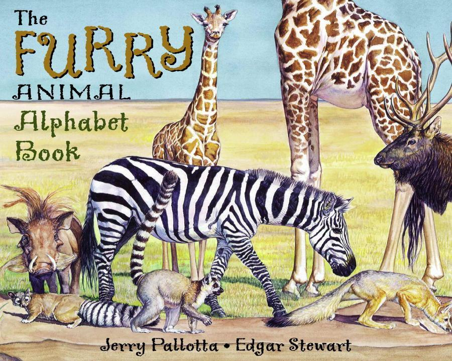 The Furry Animal Alphabet Book als Taschenbuch