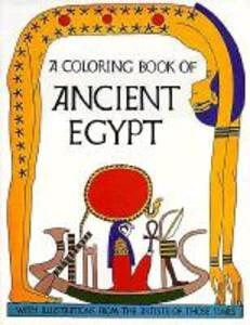 Ancient Egypt Coloring Book als Taschenbuch
