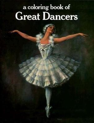 Great Dancers Coloring Book als Taschenbuch