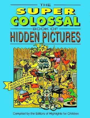 The Super Colossal Book of Hidden Pictures als Taschenbuch