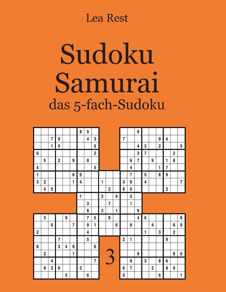Sudoku Samurai als Buch von Lea Rest
