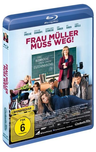 Frau Müller muss weg als DVD