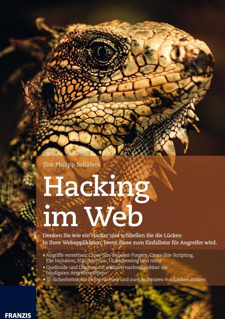 Hacking im Web als Buch