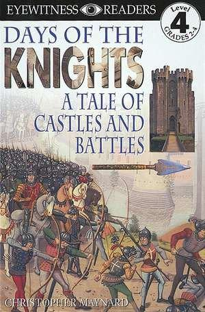 DK Readers L4: Days of the Knights als Taschenbuch