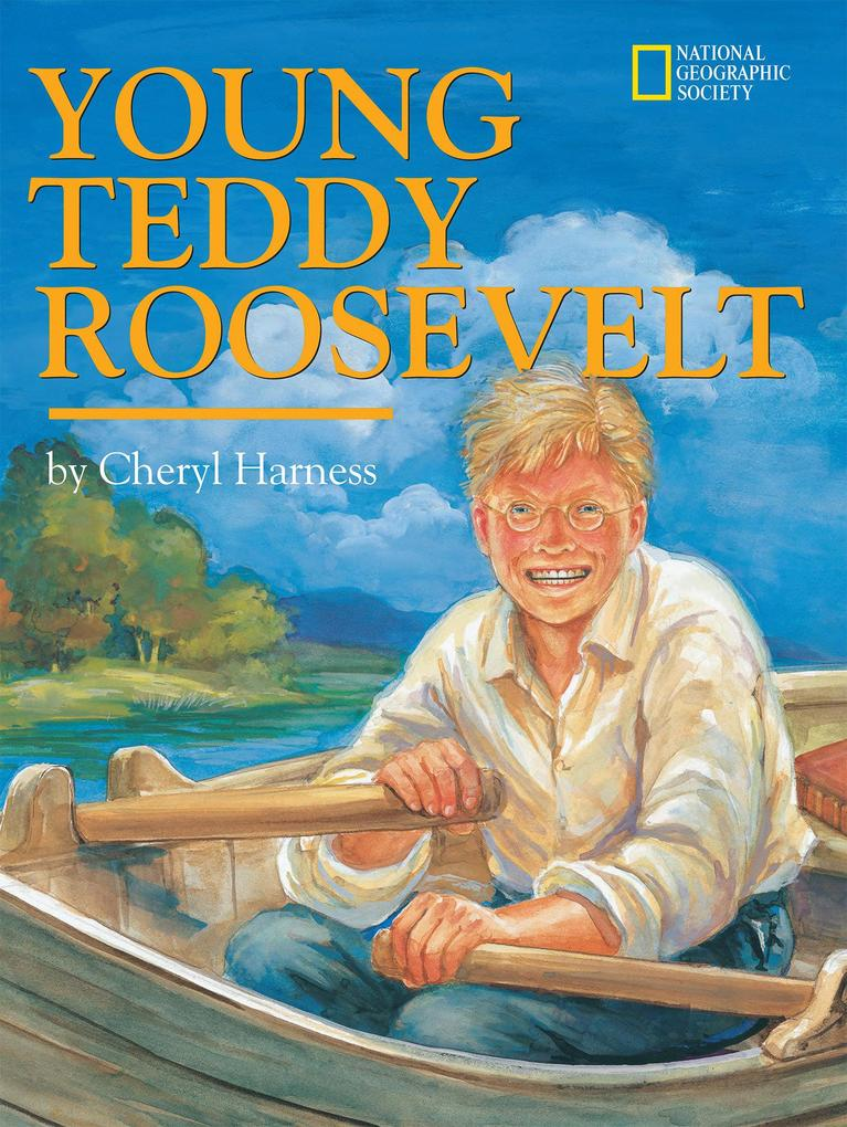 Young Teddy Roosevelt als Buch