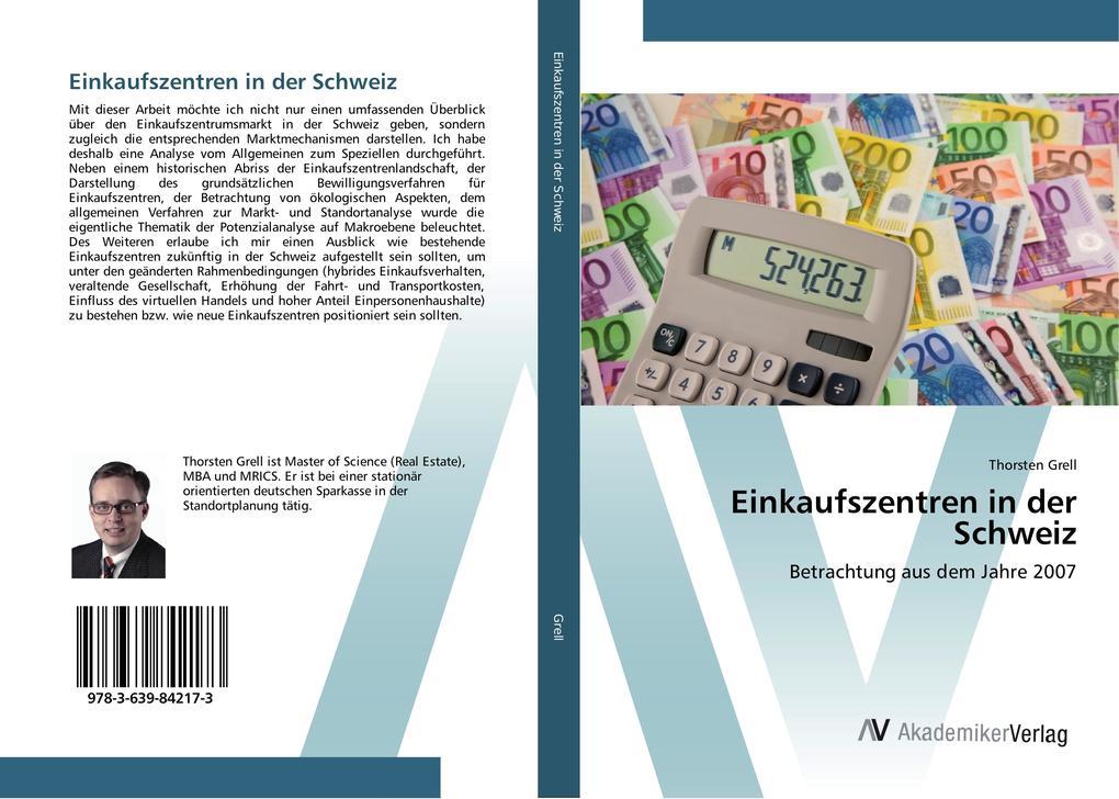 Einkaufszentren in der Schweiz als Buch von Tho...