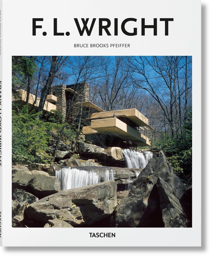 Wright als Buch von Bruce Brooks Pfeiffer