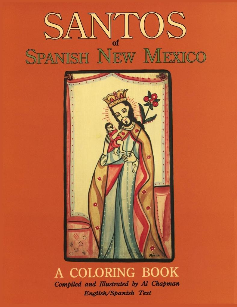 Santos of Spanish New Mexico, A Coloring Book als Taschenbuch