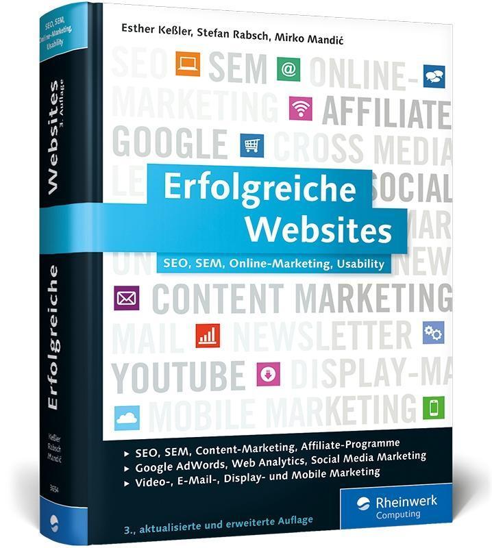 Erfolgreiche Websites als Buch von Esther Keßle...