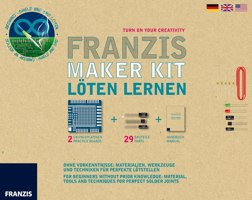 Franzis Maker Kit Löten für Maker