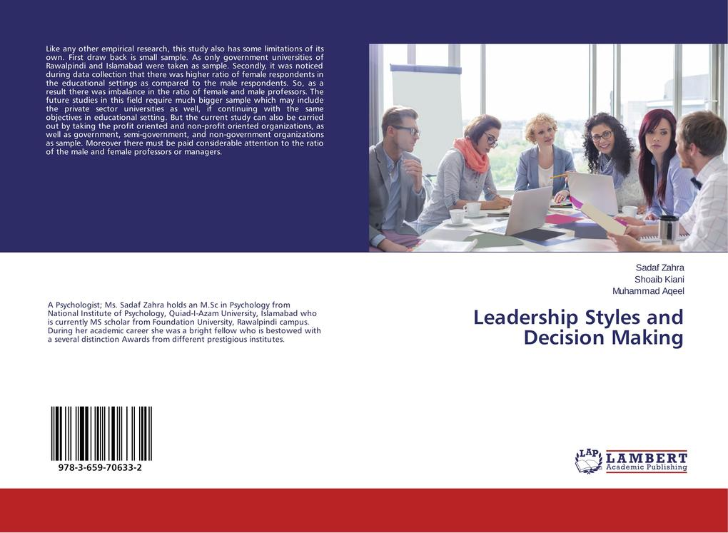 Leadership Styles and Decision Making als Buch ...