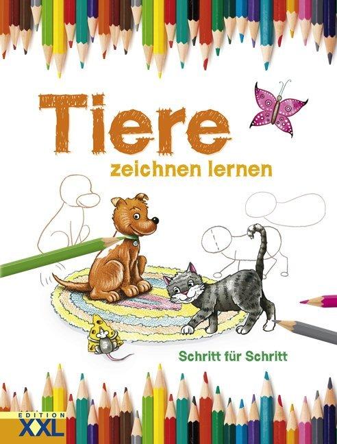 Tiere zeichnen lernen als Buch