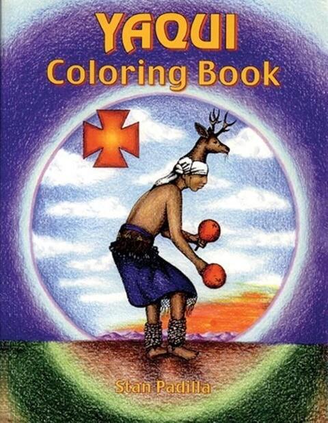 Yaqui Coloring Book als Taschenbuch