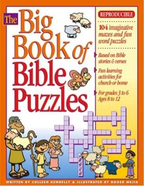 The Big Book of Bible Puzzles als Taschenbuch