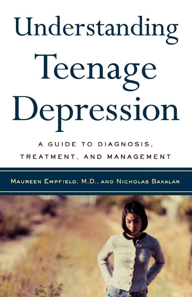 Understanding Teenage Depression als Taschenbuch
