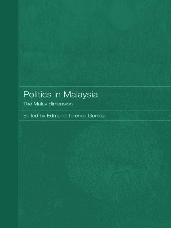 Politics in Malaysia als eBook Download von