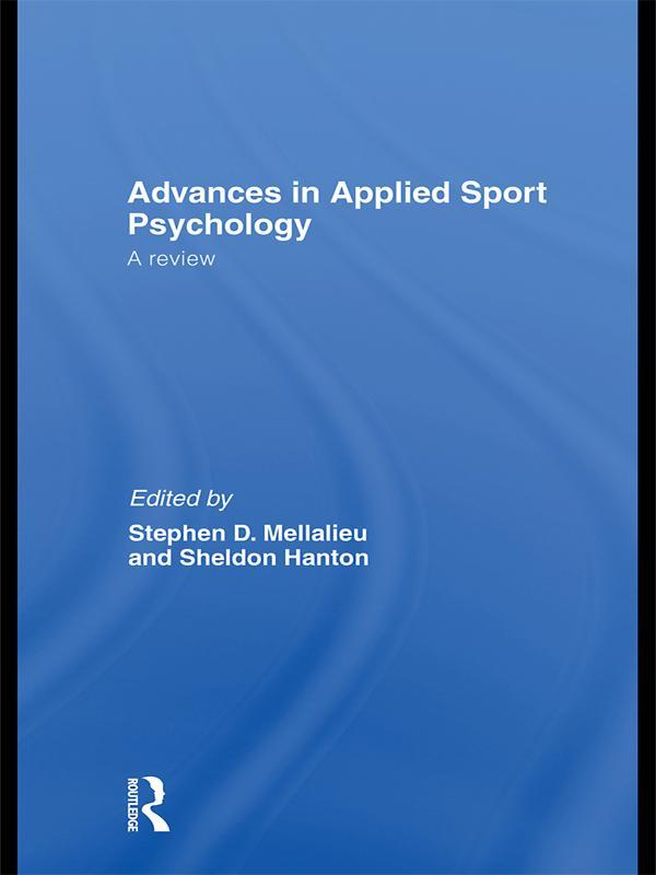 Advances in Applied Sport Psychology als eBook ...