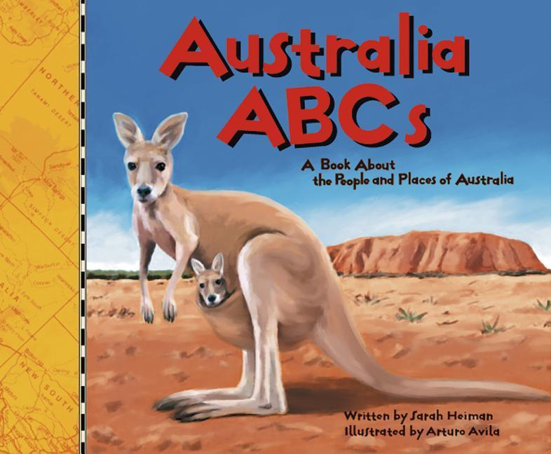 Australia ABCs: A Book about the People and Places of Australia als Buch