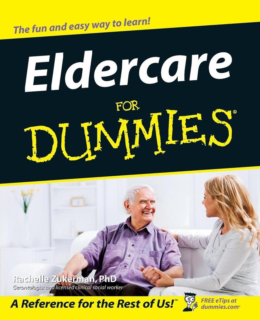 Eldercare for Dummies als Taschenbuch