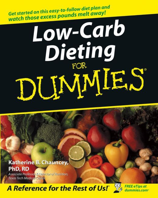 Low-Carb Dieting For Dummies als Buch