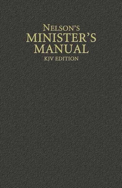 Nelson's Minister's Manual, KJV Edition als Buch