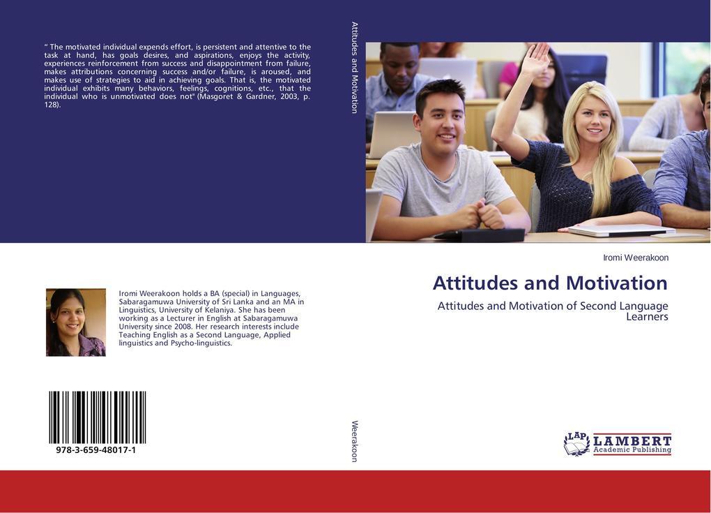 Attitudes and Motivation als Buch von Iromi Wee...