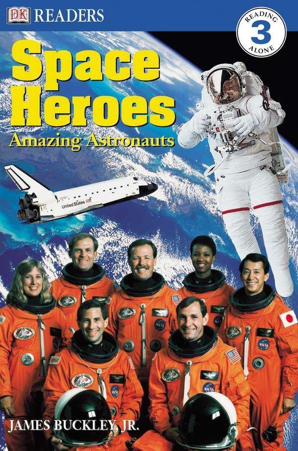 DK Readers L3: Space Heroes: Amazing Astronauts als Taschenbuch