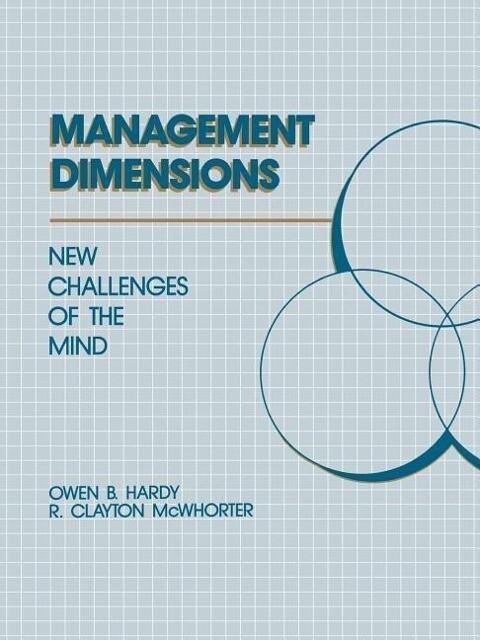 Management Dimensions: New Challenges als Taschenbuch