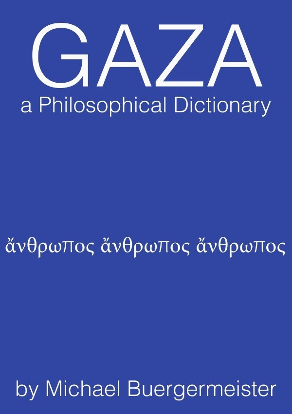 Gaza a Philosophical Dictionary als Buch (kartoniert)