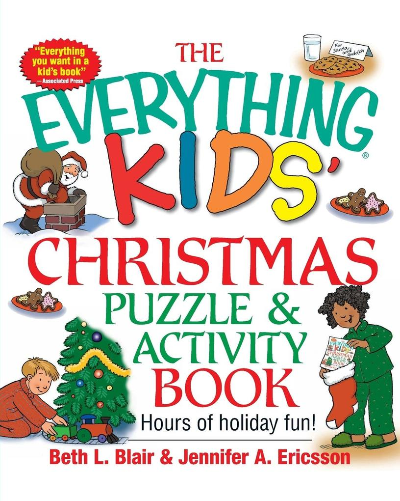 The Everything Kids' Christmas Puzzle and Activity Book als Taschenbuch