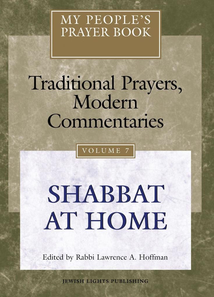 My People's Prayer Book Vol 7: Shabbat at Home als Buch