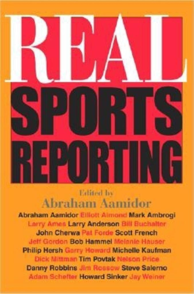 Real Sports Reporting als Taschenbuch
